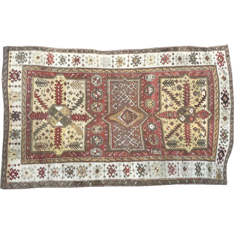 Vintage Turkish carpet in wool