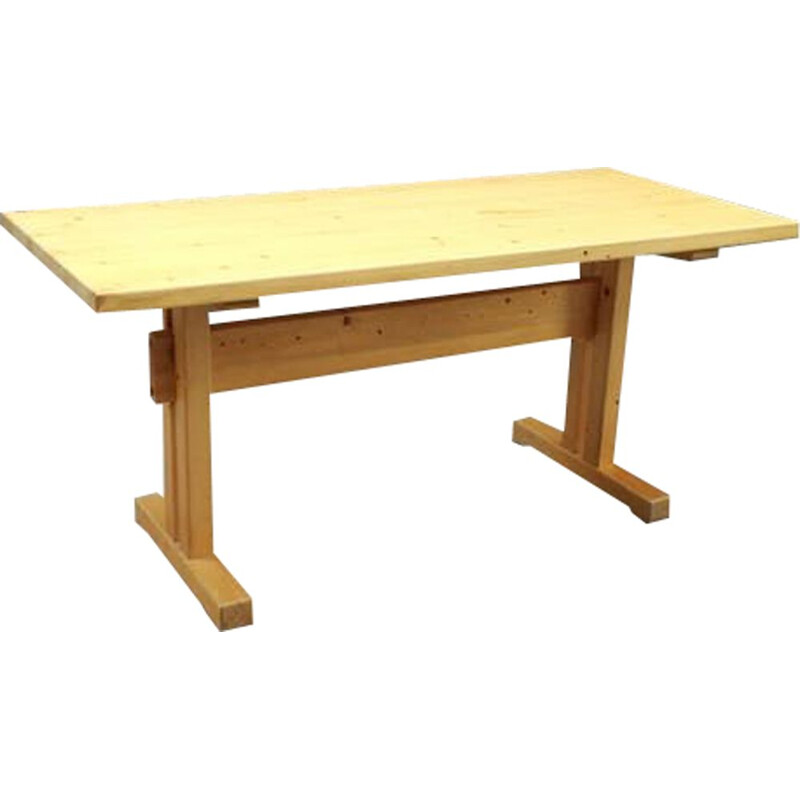 Vintage table Les Arcs by Charlotte Perriand