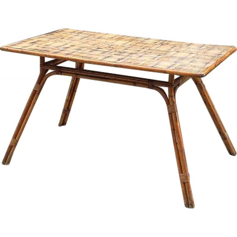 Vintage table by Adrien Audoux and Frida Minet