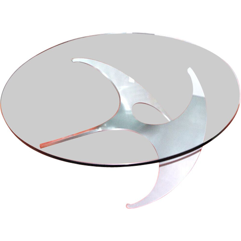 Vintage coffee table Propeller of Knut Hesterberg
