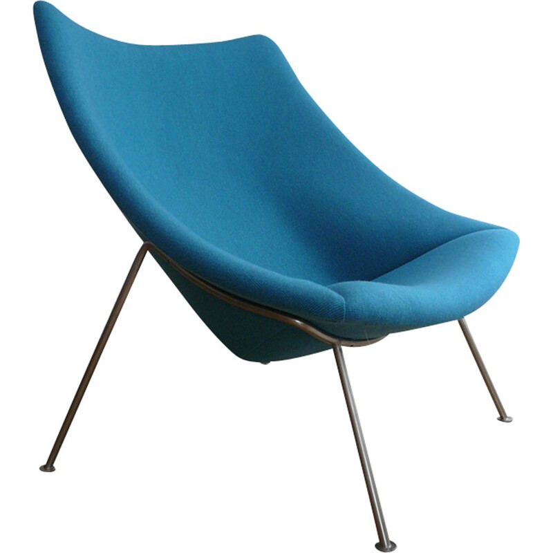 "Vintage big armchair ""Oyster"" by Pierre Paulin for Artifort"