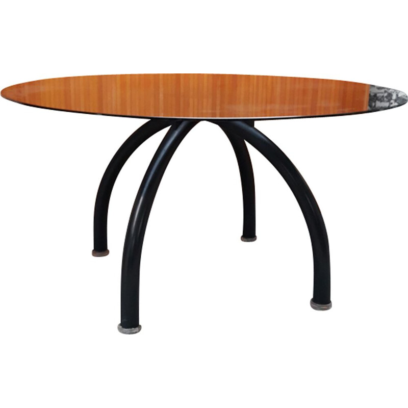 "Vintage dining table ""Spyder"" by Ettore Sottsass for Knoll International"