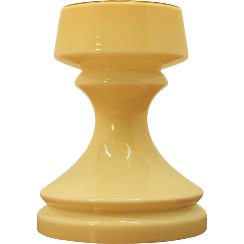 Vintage chess figure lamp Tower by Ivan Jakes