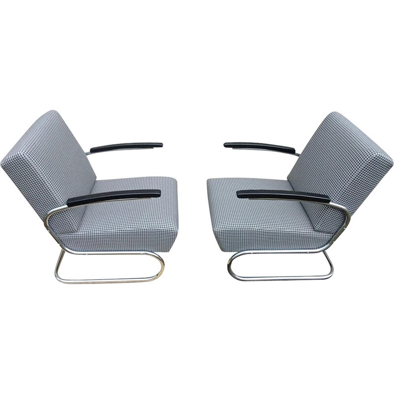 Set of 2 vintage armchairs by Thonet