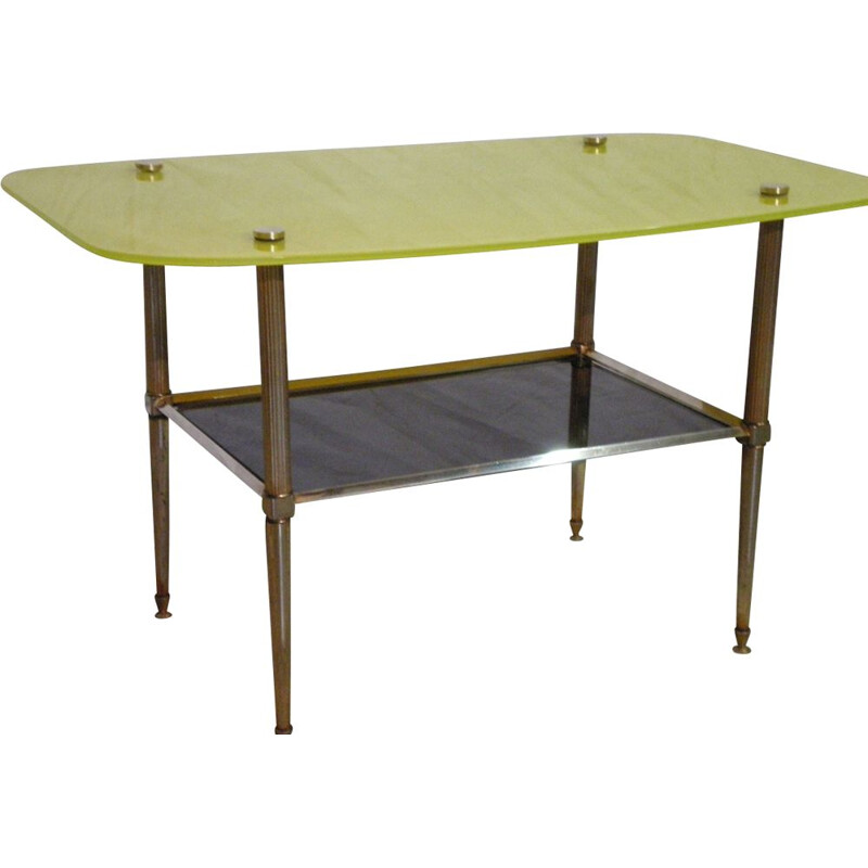 Vintage side table by Maison Jansen