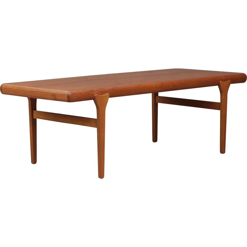 Vintage extendable dining table in teak by Johannes Andersen