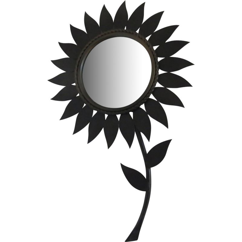 "Vintage sun mirror ""Flower"" from Chaty Vallauris"