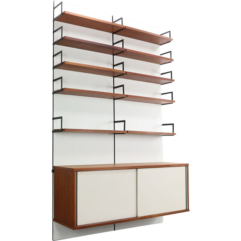 Vintage wall bookcase by Cees Braakman