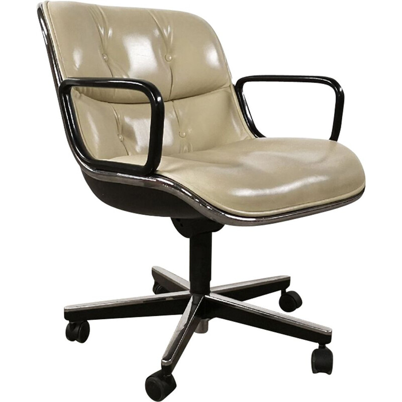 "Vintage ""Executive"" chair by Charles Pollock for Knoll International"
