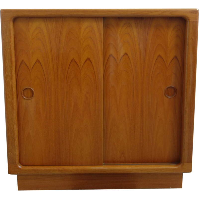 Vintage shoe cabinet Model 244 by Silkeborg in teak