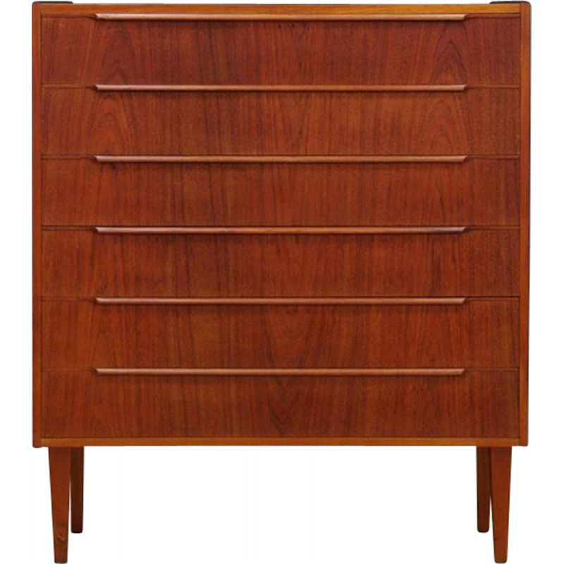 Vintage Danish chest of drawers in teak