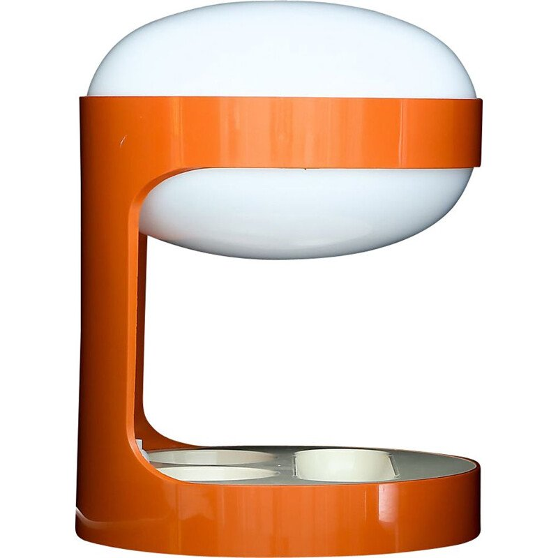 "Vintage orange lamp ""KD Kartell"" by Joe Colombo"