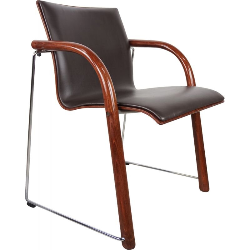 Vintage armchair by Ulrich Böhme and Wulf Schneider for Thonet