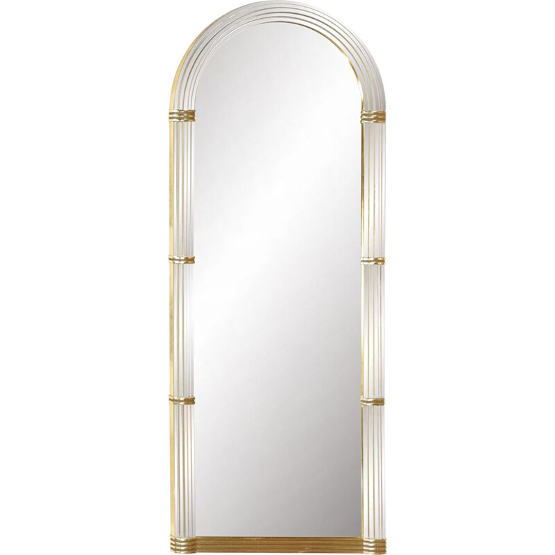 Large vintage mirror in arcade by Deknudt
