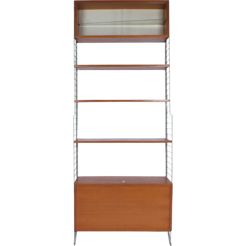 Vintage standing string wall unit by Kajsa and Nisse Strinning