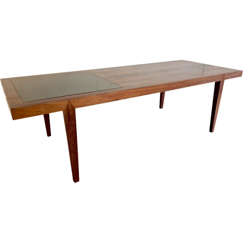 Vintage coffee table in Rio rosewood