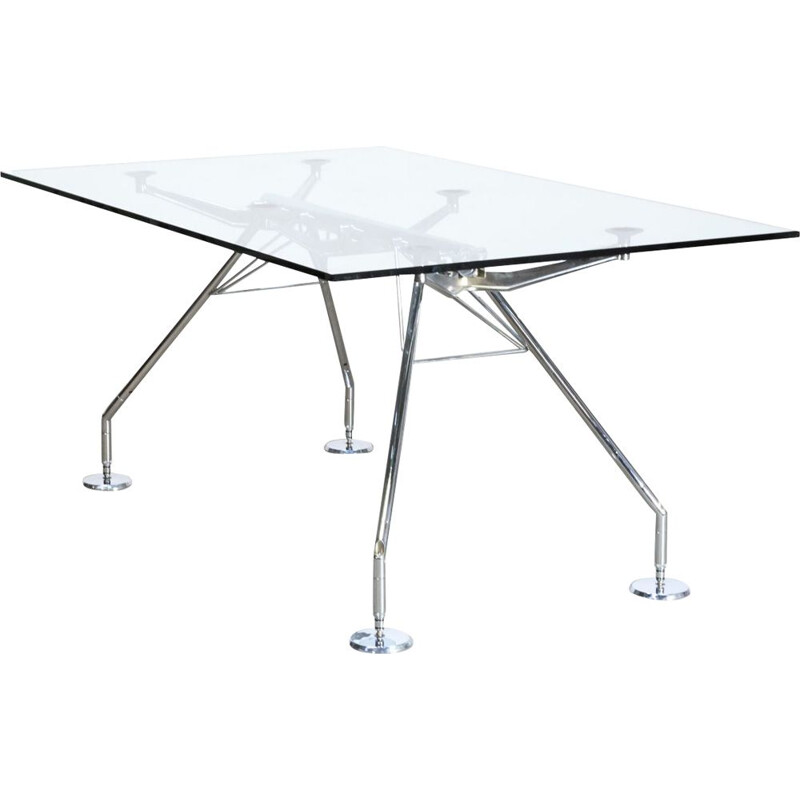 Vintage table nomos by Norman Foster for Tecno