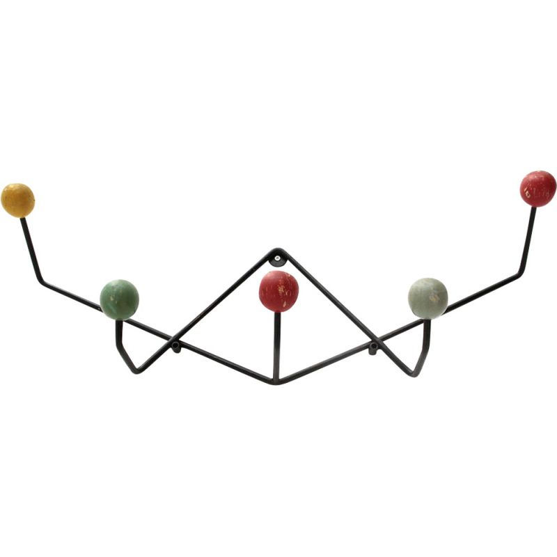 Vintage Italian colored coat rack