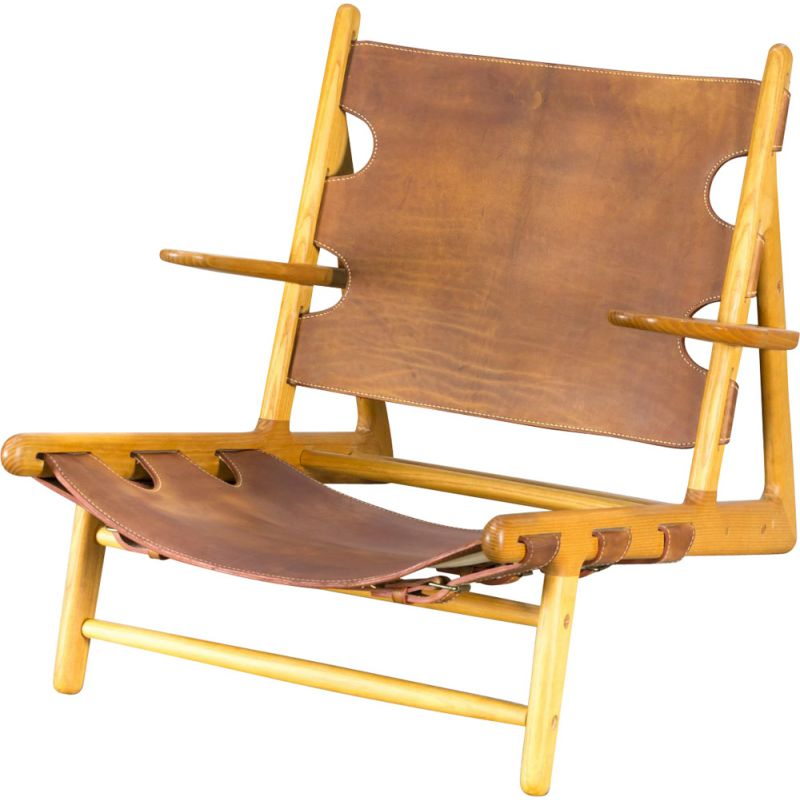 Vintage Hunting Chair Model 2229 by Mogensen for Fredericia Stolefabrik