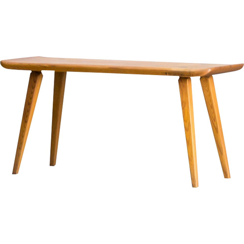 Vintage pine bench by Carl Malmsten for Karl Anderssons