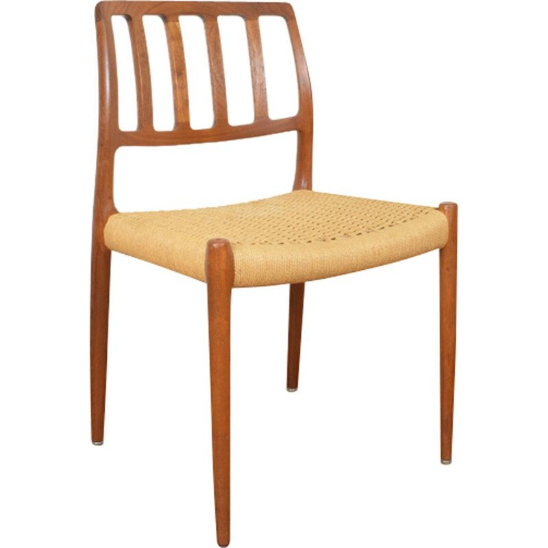 Vintage Model 82 Chair for J.L. Møllers in teak 1960