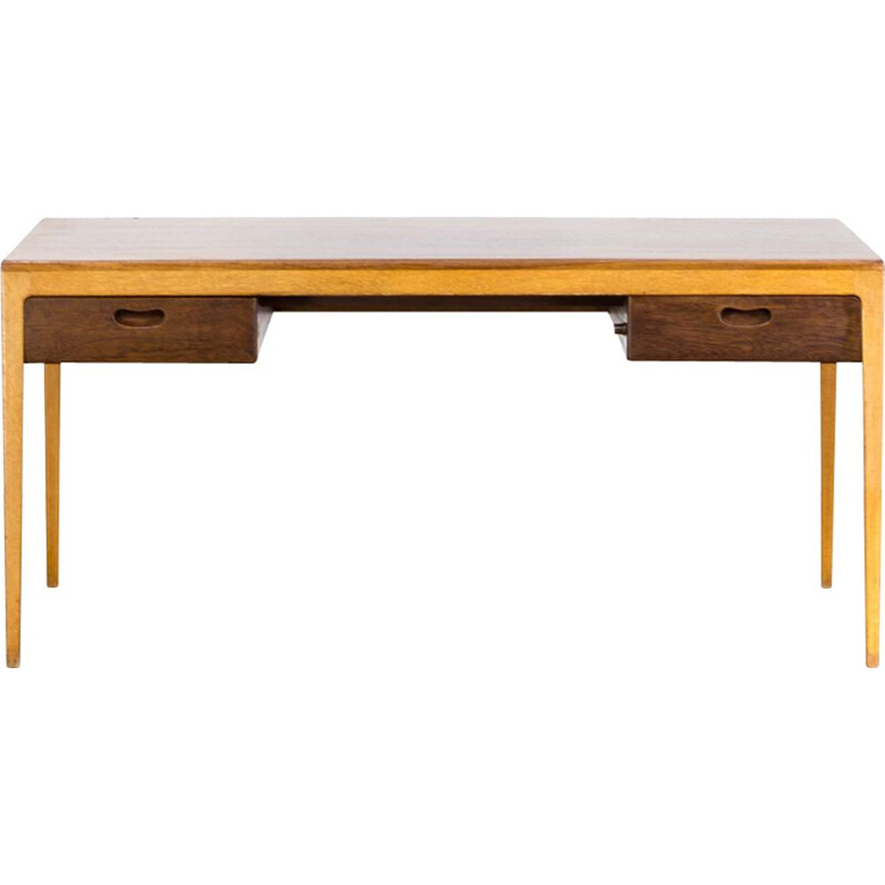 Vintage German desk by Hartmut Lohmeyer for Wilkhahn