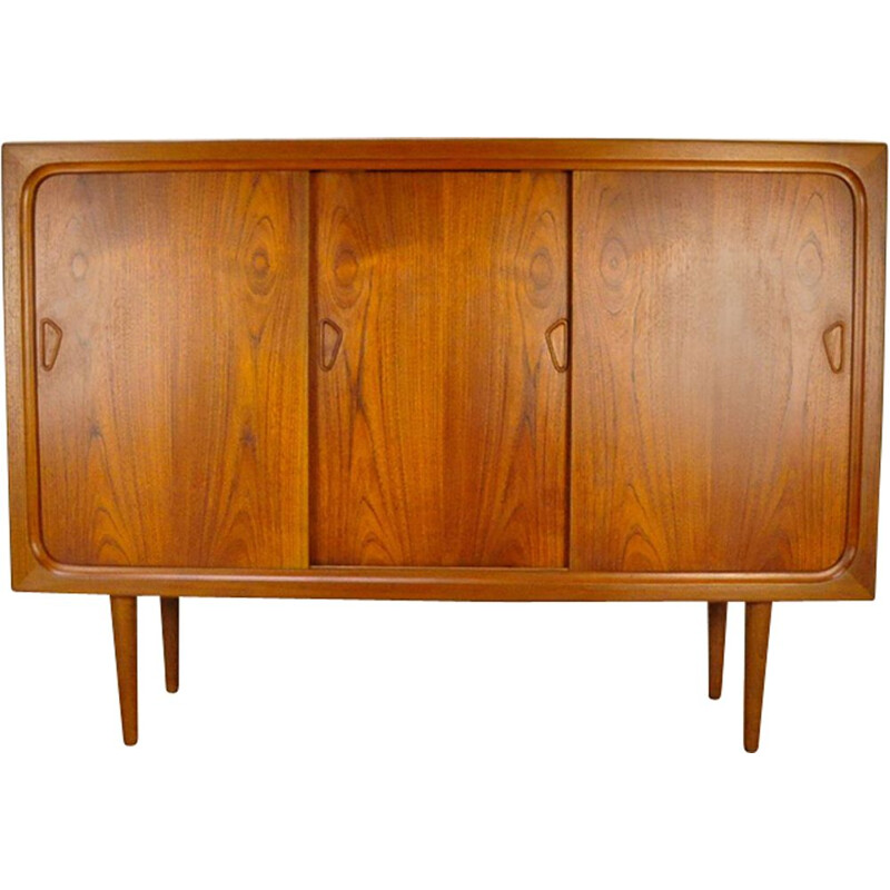 Vintage Danish highboard in teak