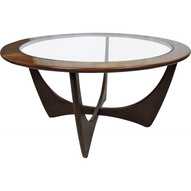 Vintage coffee table in teak by Victor Wilkins for G-Plan