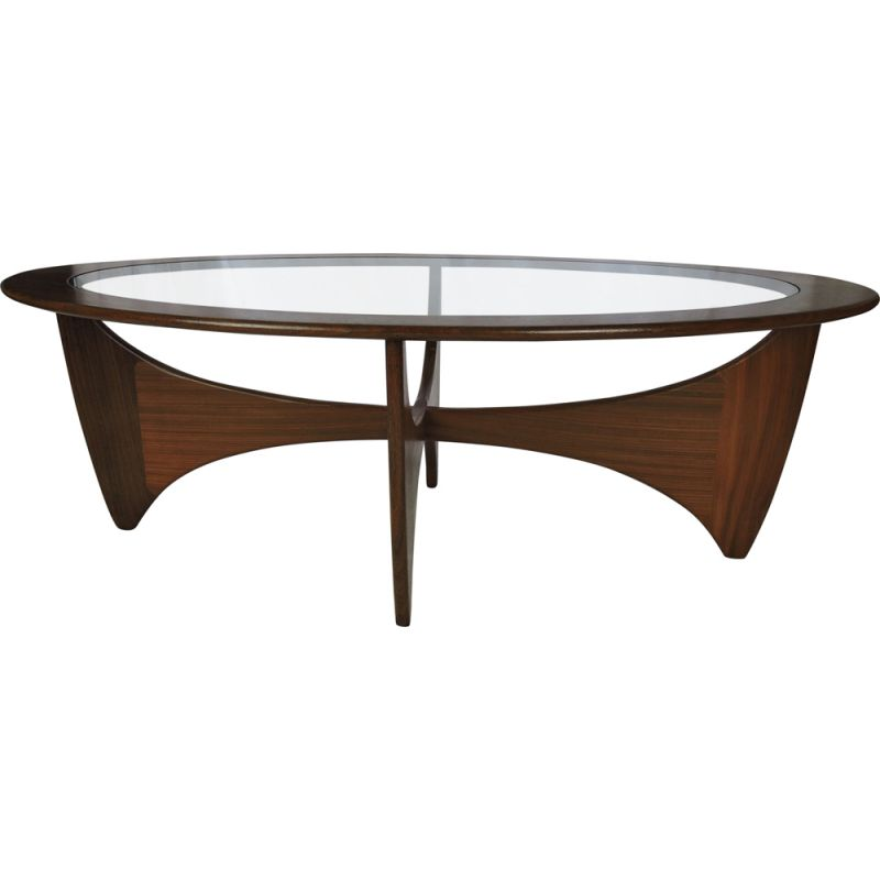 Vintage coffee table in solid teak by G-Plan