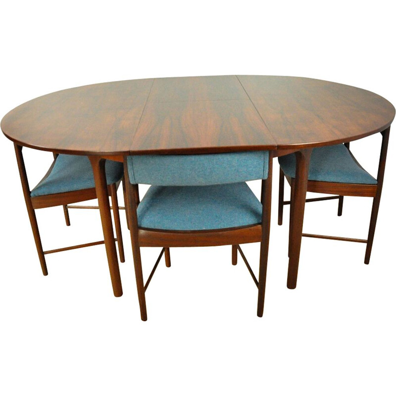 Vintage dining set in rosewood from Mcintosh