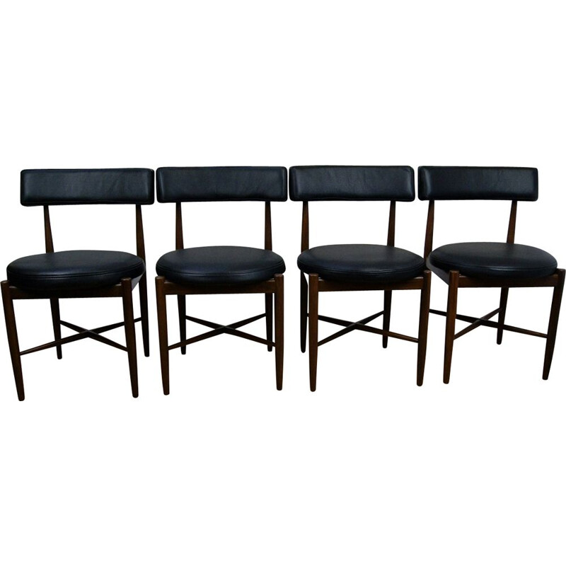 Set of 4 vintage chairs by Victor Wilkins for G-Plan
