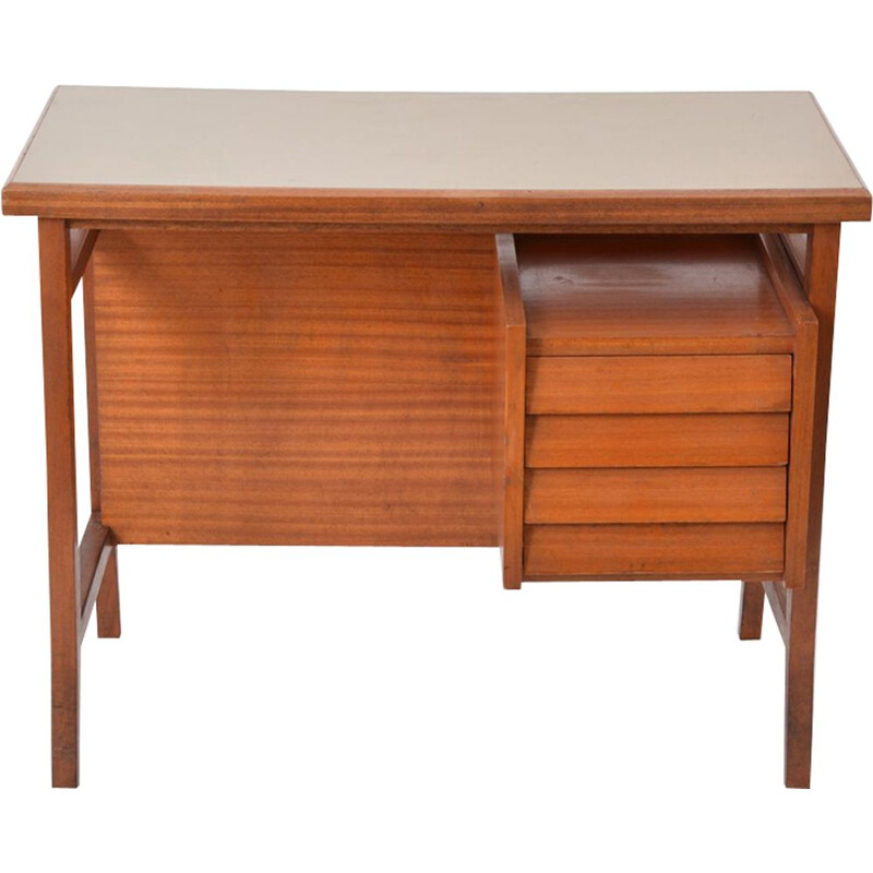 Vintage Italian writing desk by Gio Ponti for Schirolli 1950s