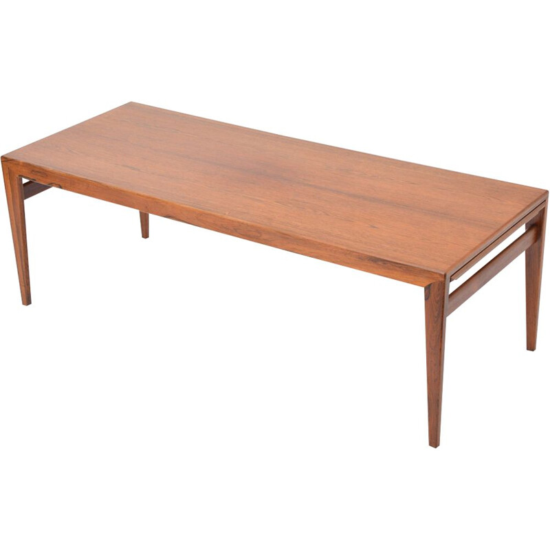 Vintage danish table for Uldum Møbelfabrik in rosewood and formica 1960