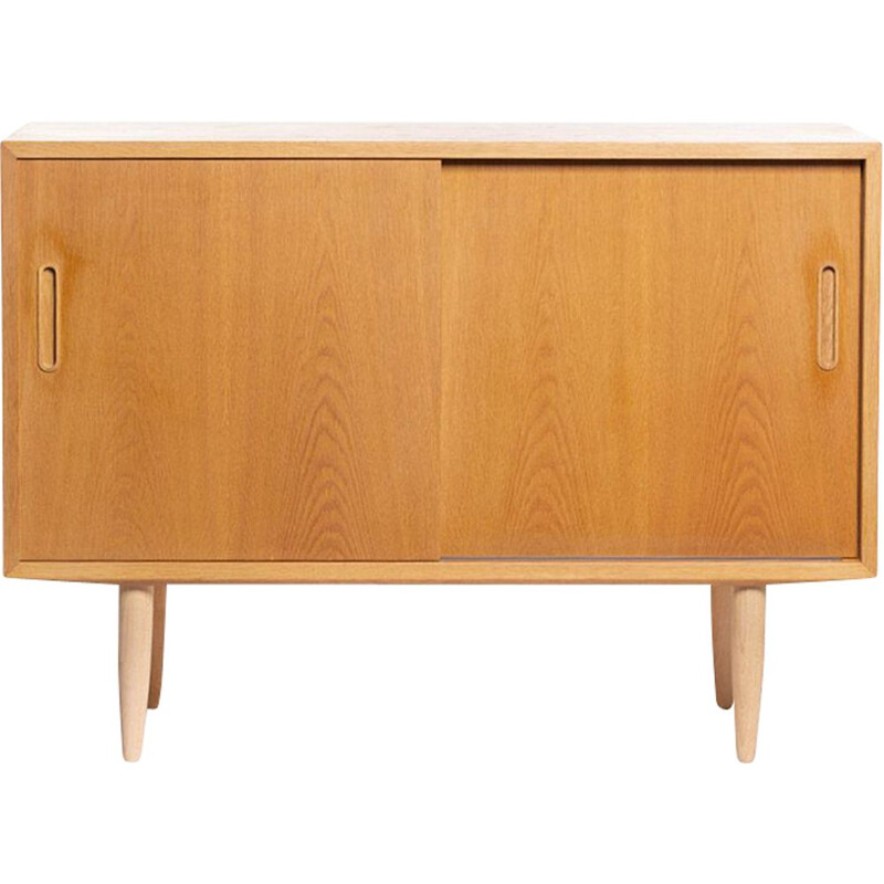 Vintage light oak sideboard by Carlo Jensen