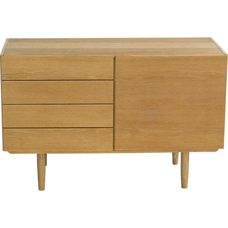 Vintage danish dresser in oak by Ib Kofod Larsen 1960