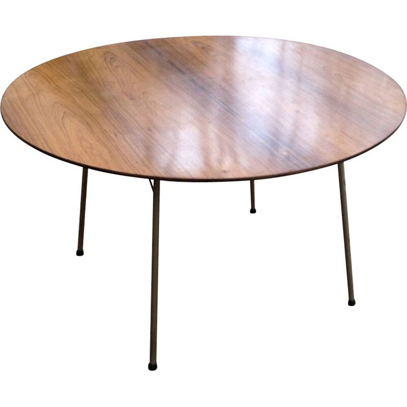 Vintage table by Arne Jacobsen in rosewood 1960
