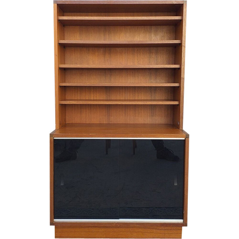 Vintage French bookcase by Pierre Guariche for Minvielle ARP