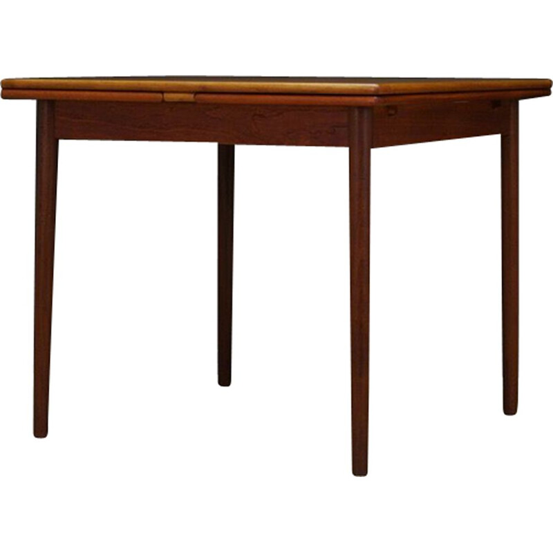 Vintage dining table in teak