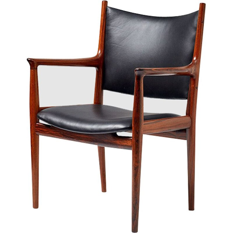 JH-713 chair in rosewood by Hans J. Wegner