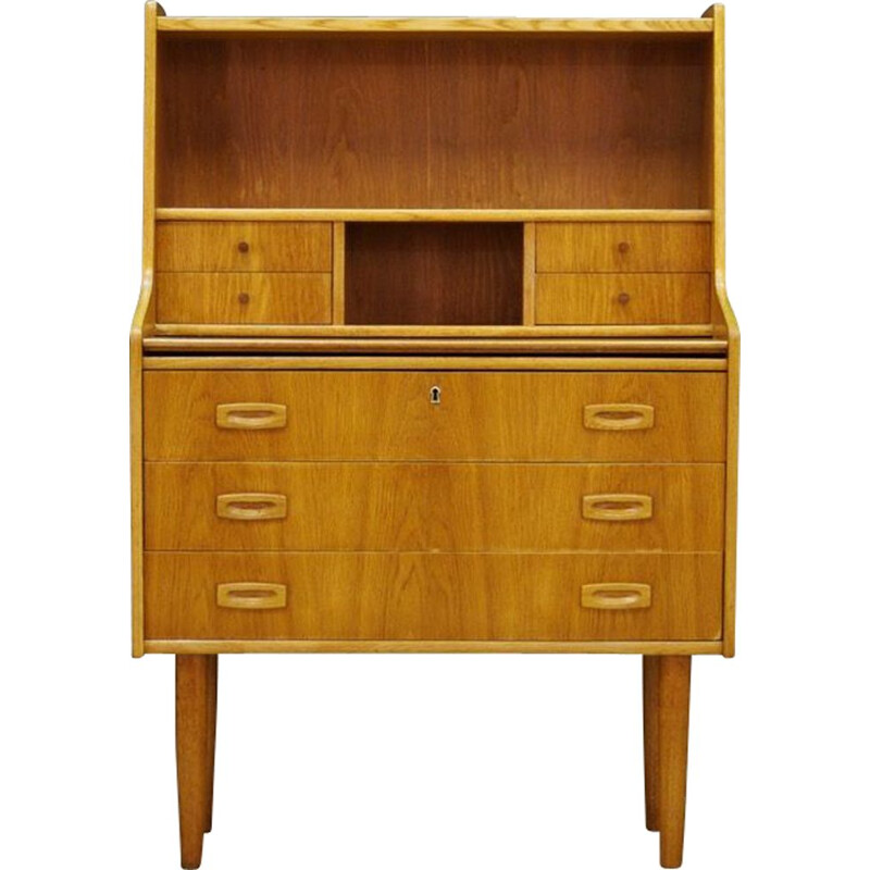 Vintage Scandinavian secretary in ashwood