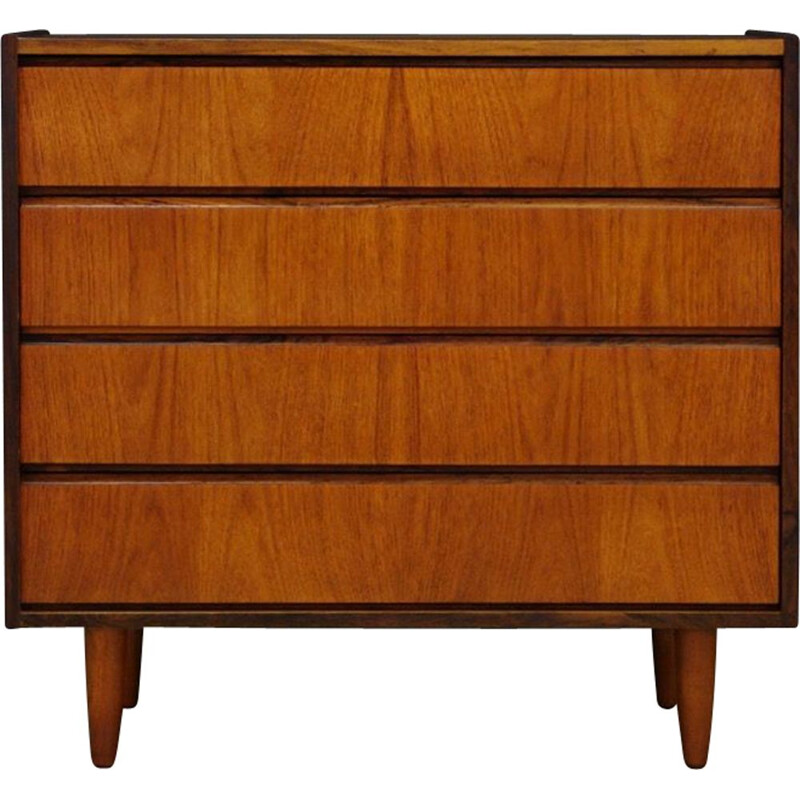 Vintage Danish chest of drawers in rosewood by ES Mobler