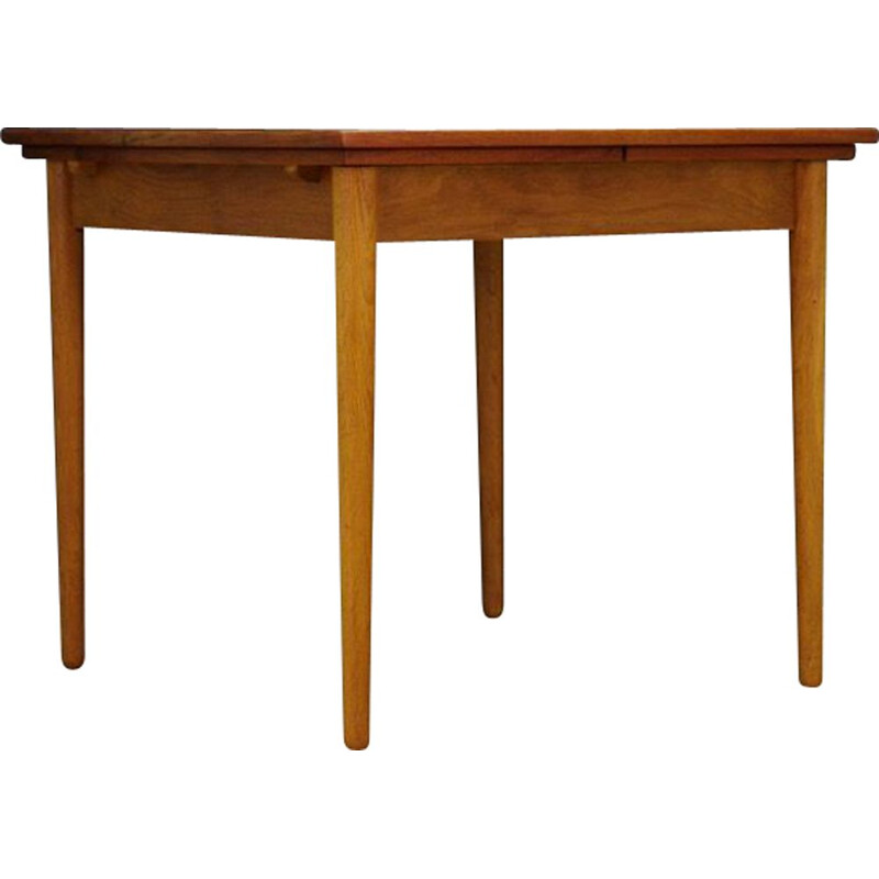 Vintage Danish dining table in teak