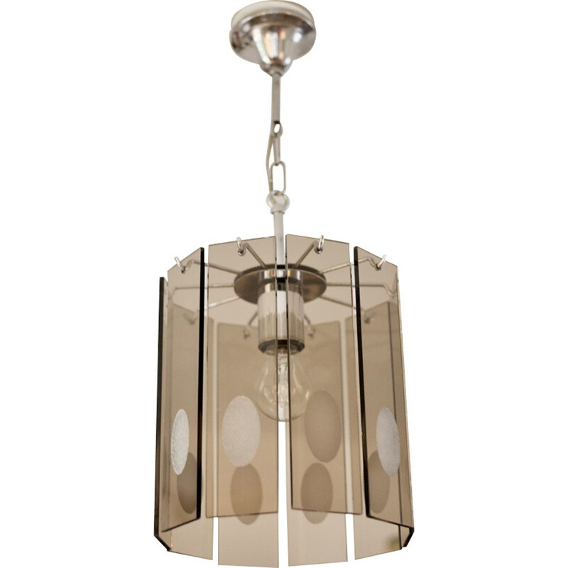 Vintage hanging lamp by Gino Vistosi