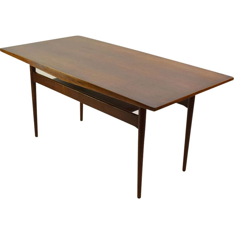 Vintage Scandinavian coffee table in rosewood
