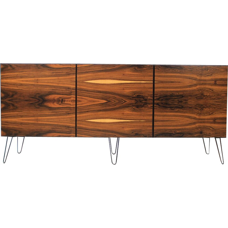 Vintage Danish Palisander sideboard by Omann Jun