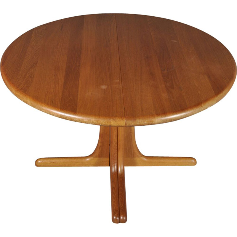 Vintage extendable Scandinavian solid teak table