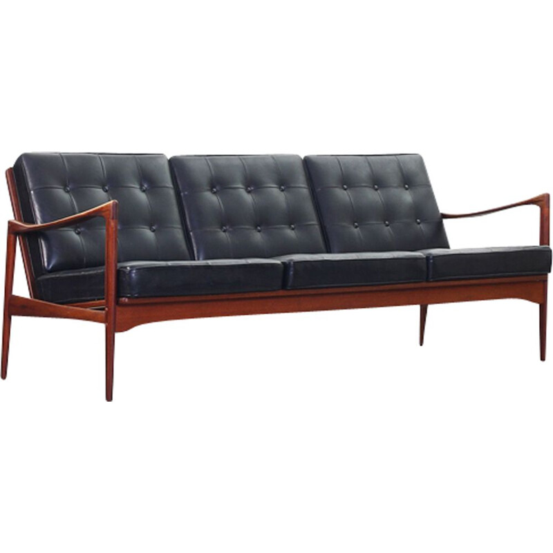 Vintage 3-seater sofa by Ib Kofod Larsen for OPE Mobler