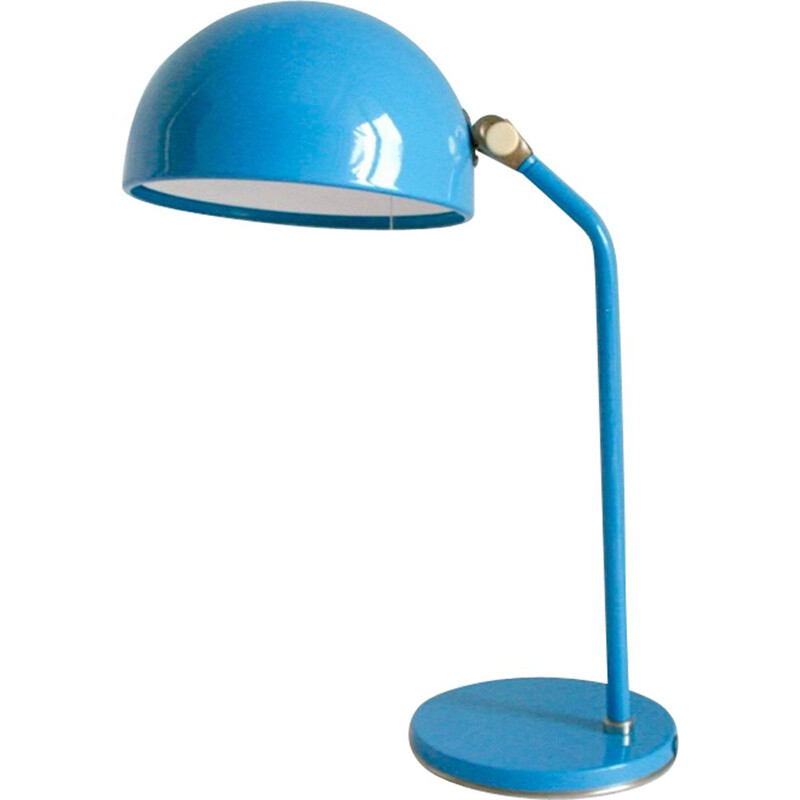 Vintage blue desk lamp by ZAOS