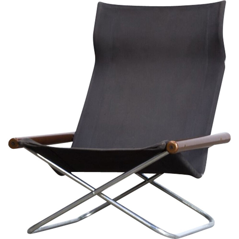 "Vintage folding chair ""NY Chair X"" by Takeshi Nii for Jox Interni"