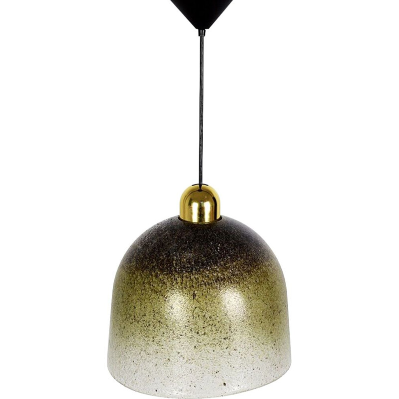 Vintage German pendant lamp by Peill & Putzler